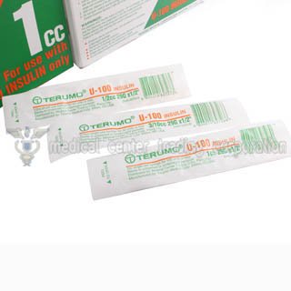 Terumo Insulin Syringe w/ needle 29 gauge x 1/2