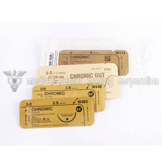 J&J Ethicon Surgical Gut Suture Chromic