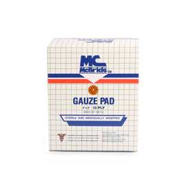 Mc Bride Gauze Pads