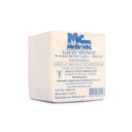 Mc Bride Gauze Sponge