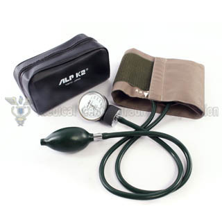 ALP K2 Aneroid Sphygmomanometer Pocket Model