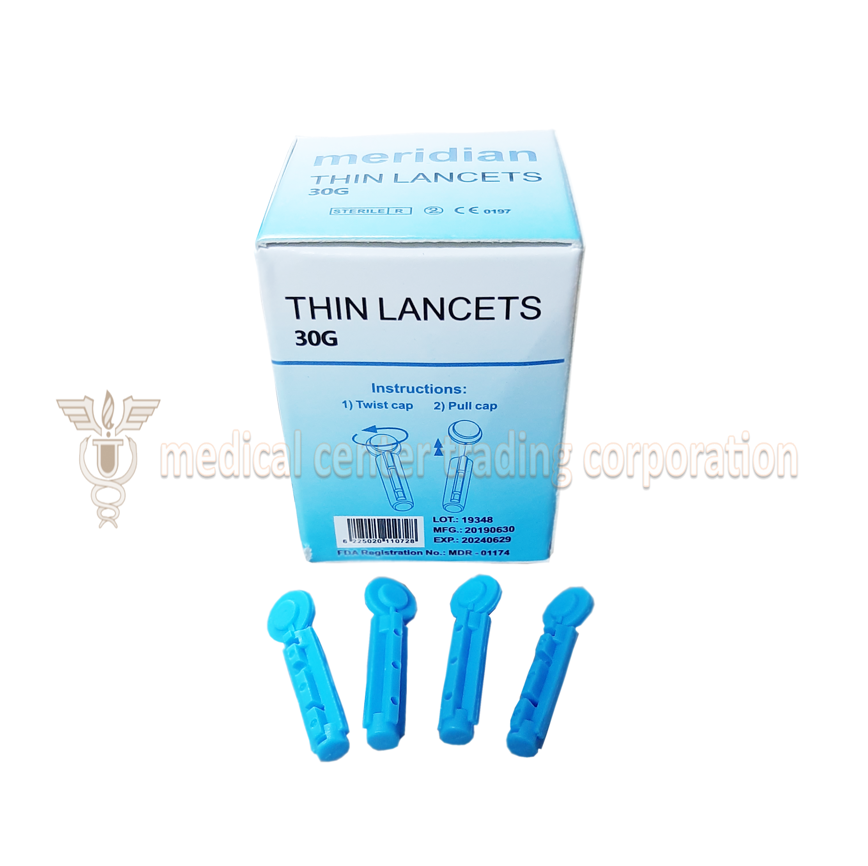 Meridian Thin Lancets G30