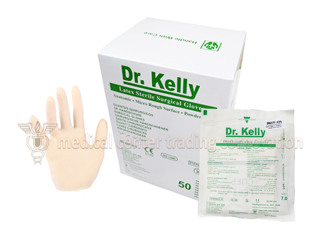 Dr Kelly Surgical Gloves Sterile